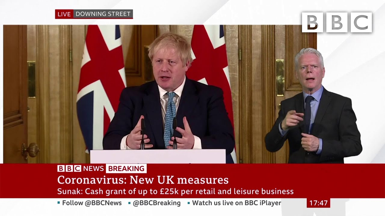 Coronavirus: Boris Johnson 'We must act like any wartime government' ? @BBC News - BBC