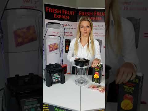 Fresh Fruit Express Preparation Smoothie Waring Blender English