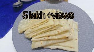 Rumali roti recipe  Simple method of rumali roti at home  Misaz taste