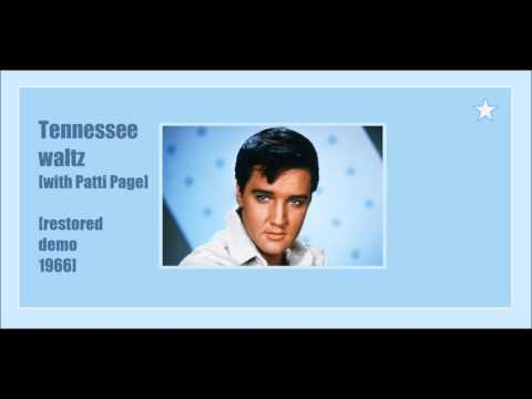 Elvis - Tennessee Waltz 1966 restored demo