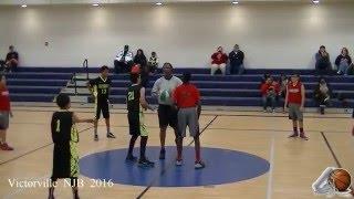 Victorville Yank Squad D1 VS Hesperia Raptors NJB Basketball