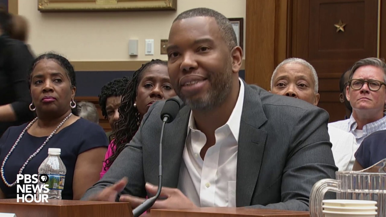 WATCH: Ta-Nehisi Coates describes continuing effects of slavery in reparations hearing