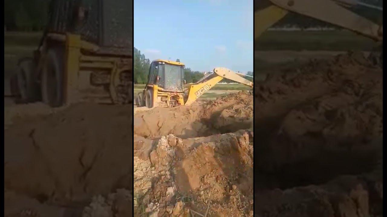 JCB Machine and Mud 🔥🔥🔥#shorts