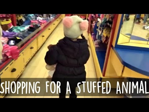 Shopping For A Stuffed Animal   01/22/16