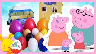 oeufs surprises de couleurs - Peppa Pig - Touni Toys - Titounis