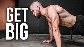 3 Secrets to GËT BIG Doing Push Ups
