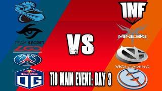[🔴 DOTA 2 LIVE ENG] TI9 Main Event: Day 3 | The International 9 TI9 Dota 2