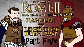 Total War: Rome 2 - Hannibal at the Gates - Carthage v Rome w/Legend of Total War Part 5!