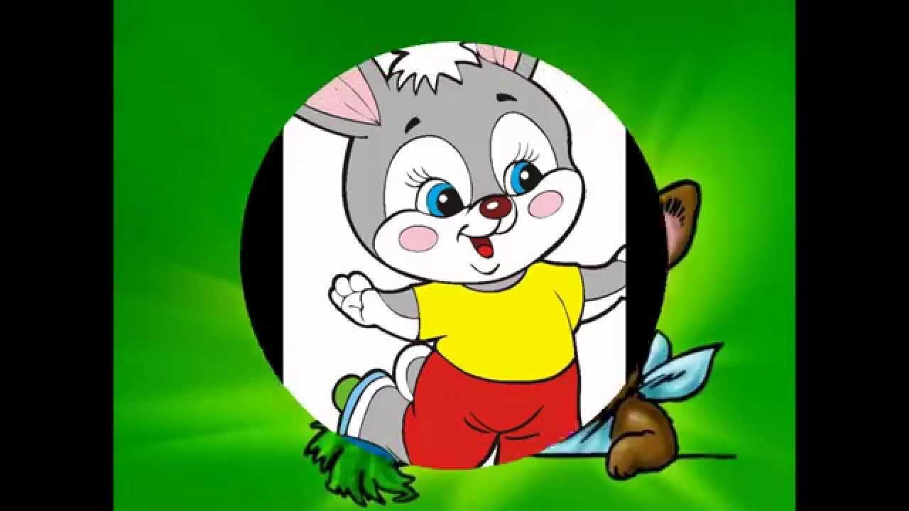 Gambar Kelinci Kartun Lucu Untuk Anak-anak - YouTube