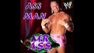WWE: Ass Man (Mr. Ass) By Jim Johsnton + Custom Cover