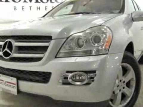 2007 mercedes benz gl class gl450 4matic suv bethesda for Mercedes benz bethesda md