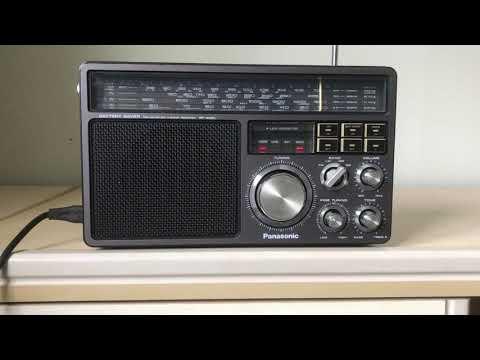 Panasonic RF 1405 tuned in to China Radio International