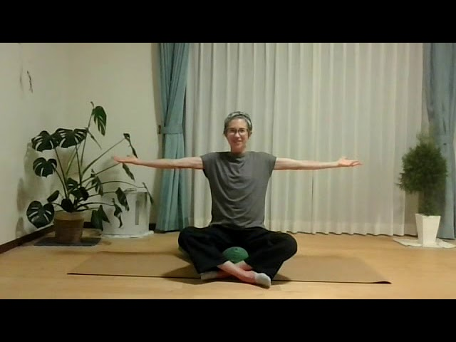 English yoga lesson: Where does movement begin?