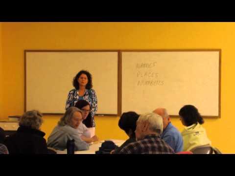 Metaphysical Interpretation Of The Bible - Barbara Waterhouse Class 1 March 31, 2015
