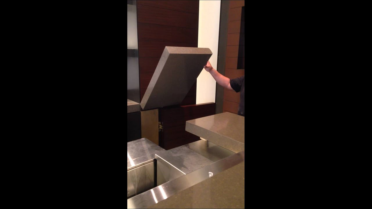 Swinging Bar Counter Top - YouTube