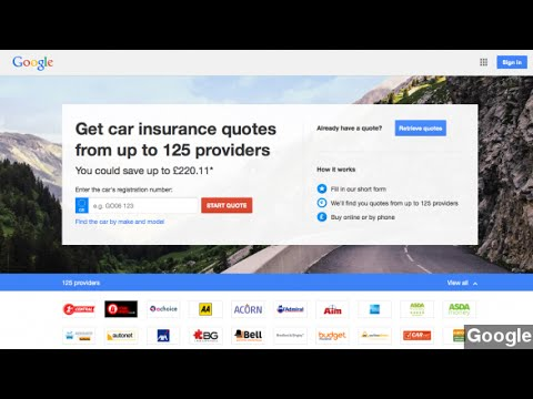 Google May Be Launching Car Insurance Shopping In The U.S.