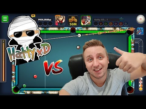 8 Ball Pool - POOLER vs HATTY XD | Special video 15K SUBS | THANK YOU | Fan Hatty ?