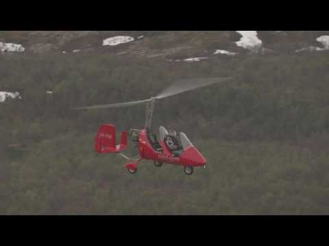 Sea King, gyrokopter, mikrofly, Lakselv - Flying Over Norway