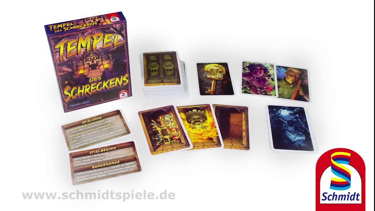 Schmidt Spiele Y Sato Tempel des Schreckens Kartenspiel Gesellschaftsspiel