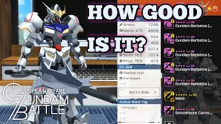 Gambar cover Gundam Barbatos [4th Form] Analysis | Gundam Battle: Gunpla Warfare