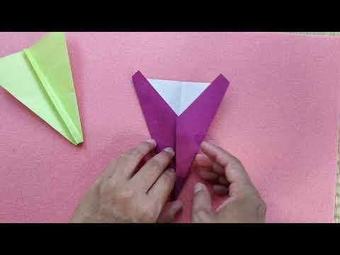 Origami Pesawat Sederhana Lv. 2