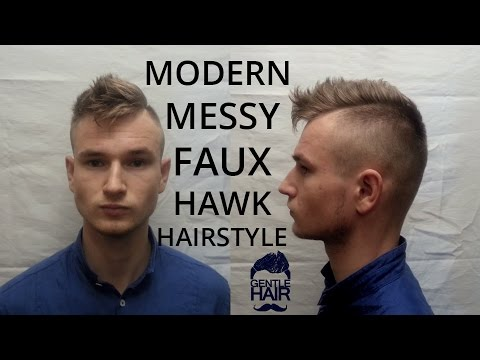 how to style a faux hawk with short hair modern faux hawk hairstyle tutorial how to style 3743 | hqdefault
