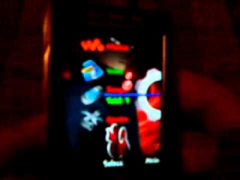 Mi Sony Ericsson W995 Modificado al 100%