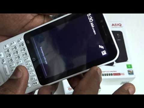 Karbonn A51Q Qwerty Android Mobile Unboxing Video
