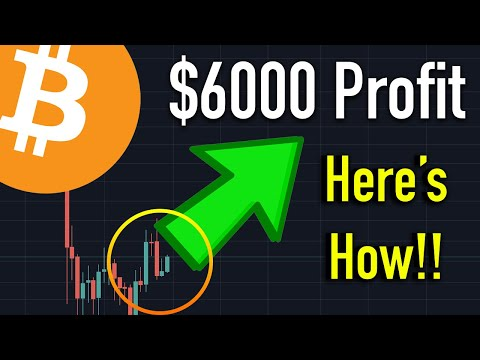 Make $6000 ByBit Bitcoin Long Trade Profit - Here's How Tutorial