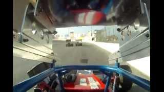 Ricky Otts-Super Modified #13-CNS Heat Race 7/19/14