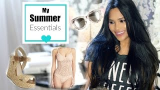 Summer Beauty & Fashion Essentials And New Hair Update!! - MissLizHeart(Subscribe Here* http://bit.ly/1U6GJFP Hi loves! Today I'm sharing my summer beauty and fashion essentials! From favorite perfumes to bikinis to shoes! I hope ..., 2016-06-21T17:55:19.000Z)