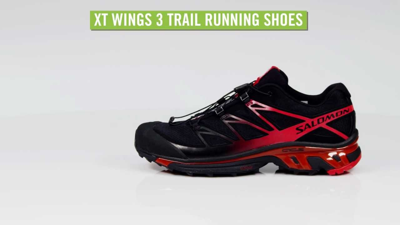 official photos 162d4 bea3f Salomon Men s XT Wings 3 Trail Running Shoes - YouTube