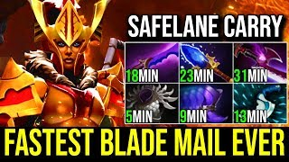 Fastest Blade Mail Ever [Legion Commander] SUPER FAST ITEMS Safelane Carry 7.19c | Dota 2 FullGame