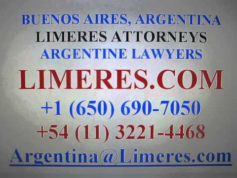 San Juan Argentina :: Abogado Attorney Lawyer :: English Spanish Argentina :: Limeres.com