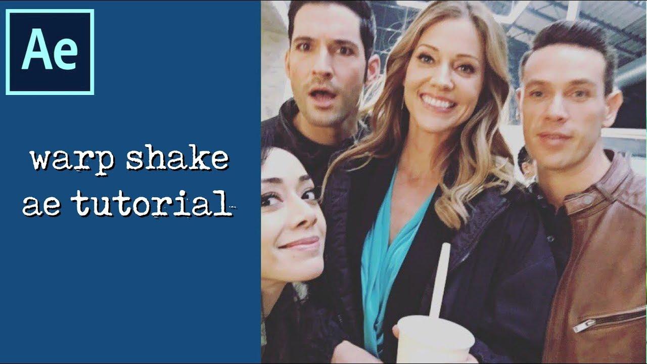 warp shake   ae tutorial