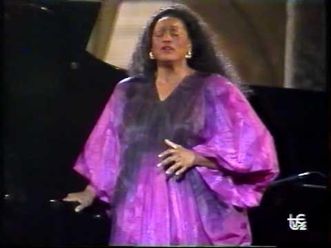 JESSYE NORMAN (1/4) Lieder eines fahrenden Gesellen 1990