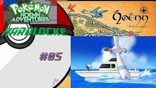 Pokémon HA HardLocke   E5   ATRAVESANDO EL MAR CON PEEKO