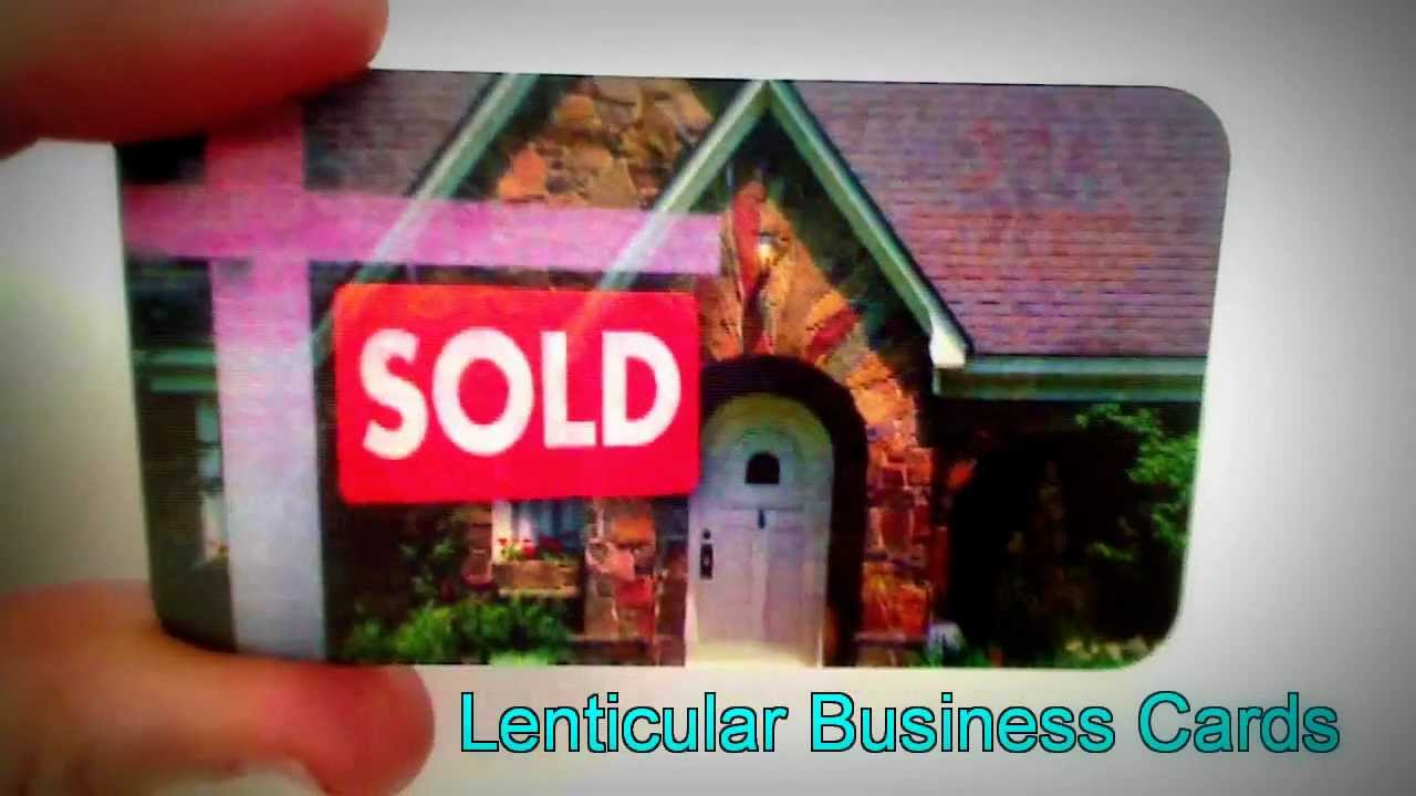 Lenticular 3d 4d business cards youtube lenticular 3d 4d business cards magicingreecefo Image collections