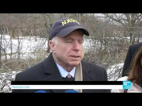 """US - Senator John McCain: """"we must stand up to Vladimir Putin"""""""