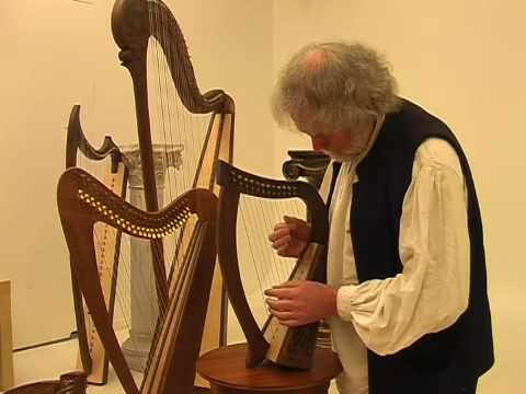 12 String Baby Harp Played By David Kettlewell Youtube