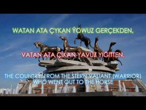 Watan nirden başlanýar - Türkmen Türküsü Türkçe altyazili. English Subtitles. Türkmen aýdymy