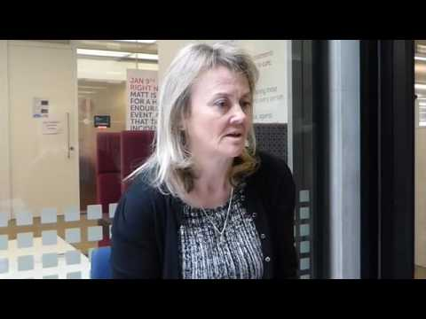 Caroline Dive talking about the 2016 NCRI Cancer Conference.