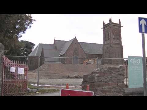 Peel Cathedral Work, Isle of Man, August 2014