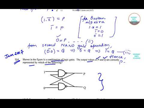 IIT JAM PHYSICS 2017 SEC A  Q6,7 PAPER YEAR SOLVE,LECTURES COMPLETE ANSWER SOLUTION