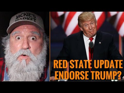 Red State Update Endorses Donald Trump?