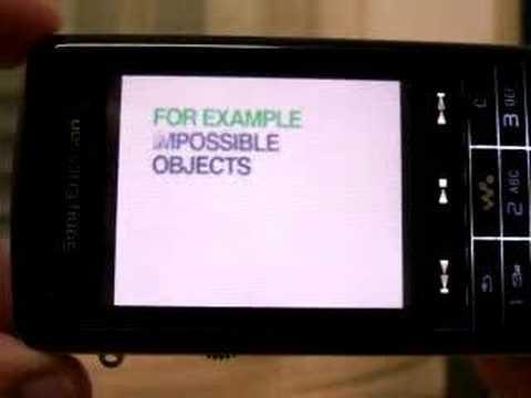 Youtube auf dem Sony Ericsson W960i