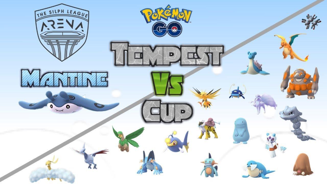 Mantine vs The Tempest Cup Meta - Pokemon GO Pokebattler