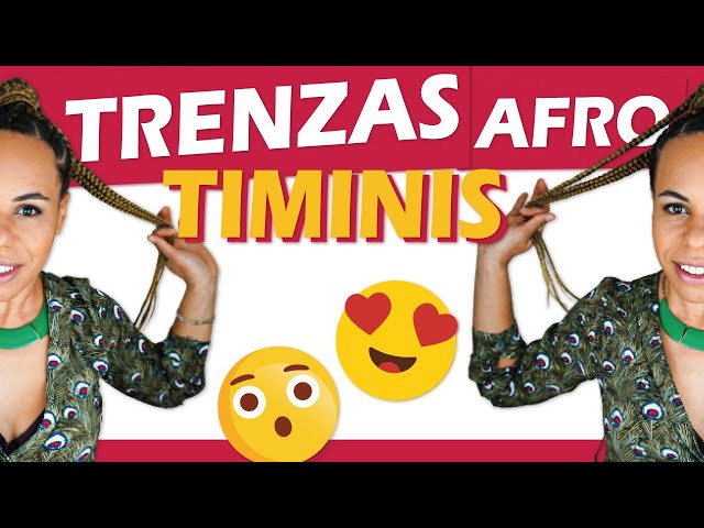 TRENZAS TIMINI 😍 trenzas de raíz africanas ¡Rijeka Professional me trenza!