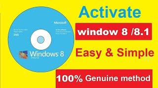 How to Activate Windows 8 Pro || All Version || Without Software or any Product Key | Free 100% work