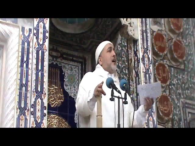 خطبة الجمعة - مقام أئمة المساجد - 2019/03/01